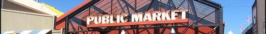public market banner